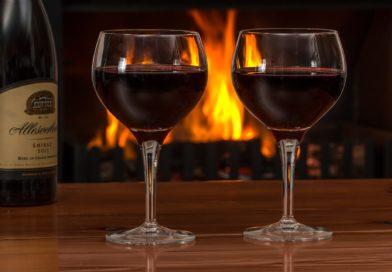 şarap lekesi